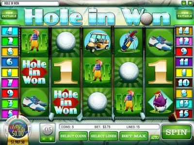Популярный i-slot Rival Hole in Won